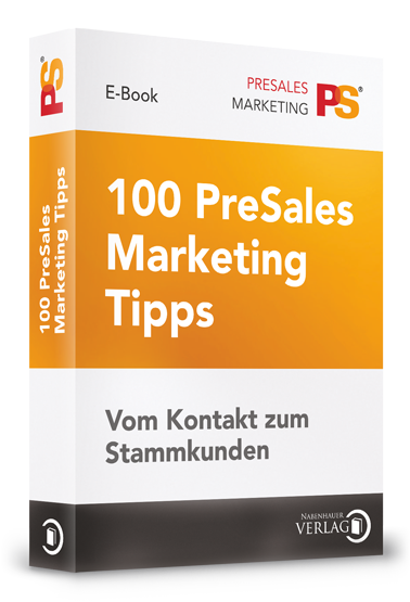 E-book 100 Presales Marketing Tipps